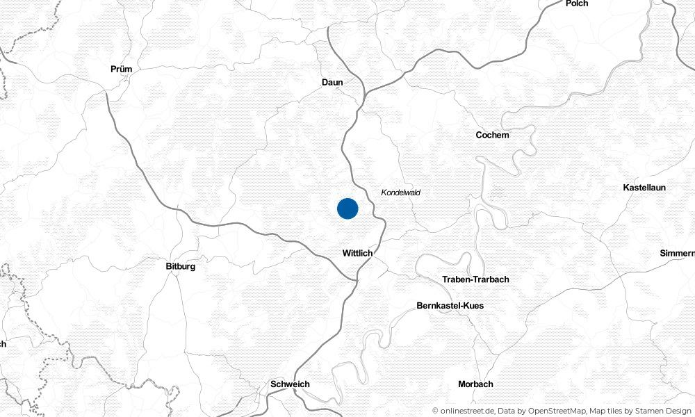 Karte: Wo liegt Gipperath?