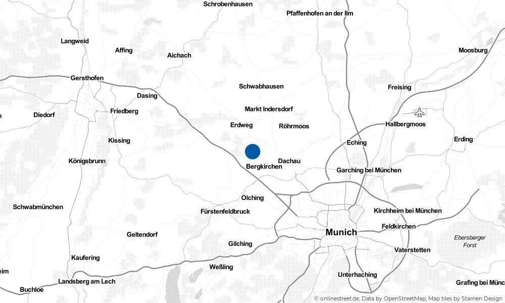 Karte: Wo liegt Schwabhausen?