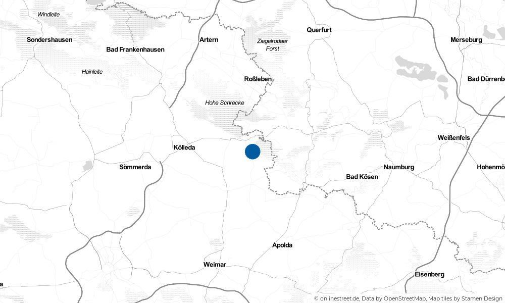Karte: Wo liegt Rastenberg?