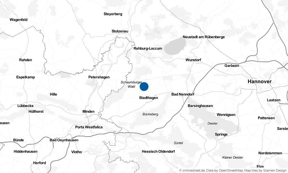 Karte: Wo liegt Nordsehl?