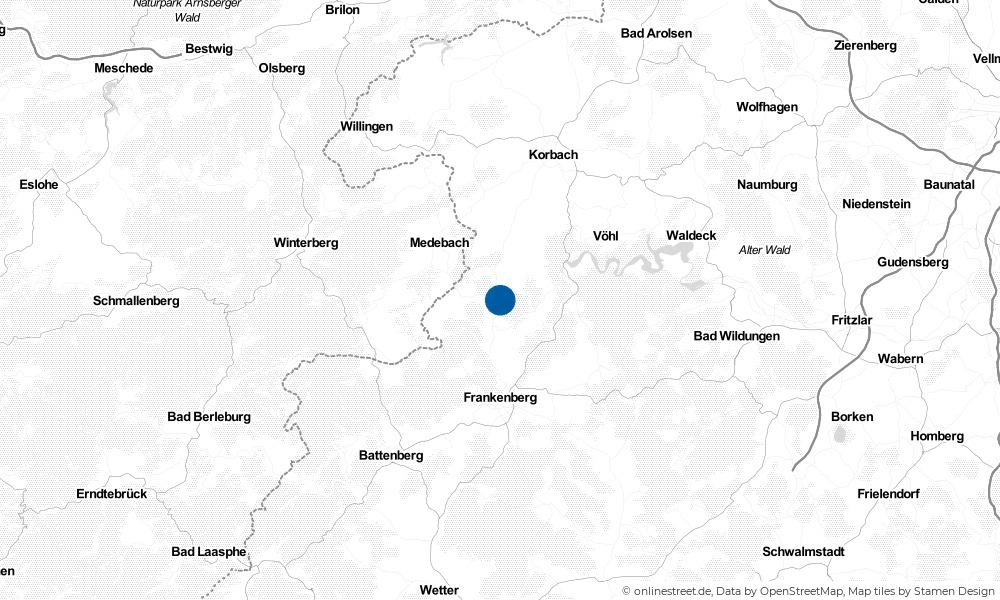 Karte: Wo liegt Lichtenfels?