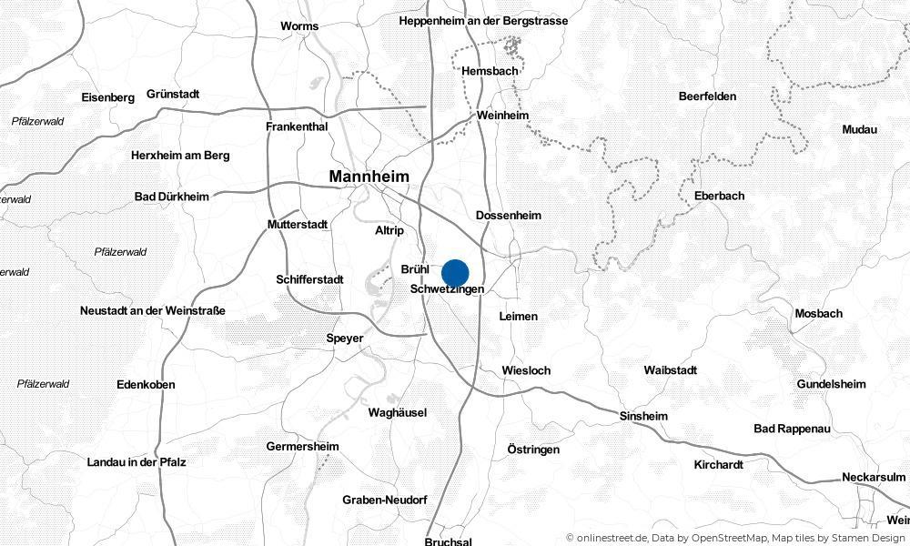 Karte: Wo liegt Plankstadt?