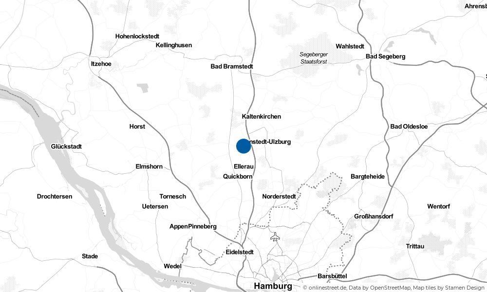 Karte: Wo liegt Alveslohe?
