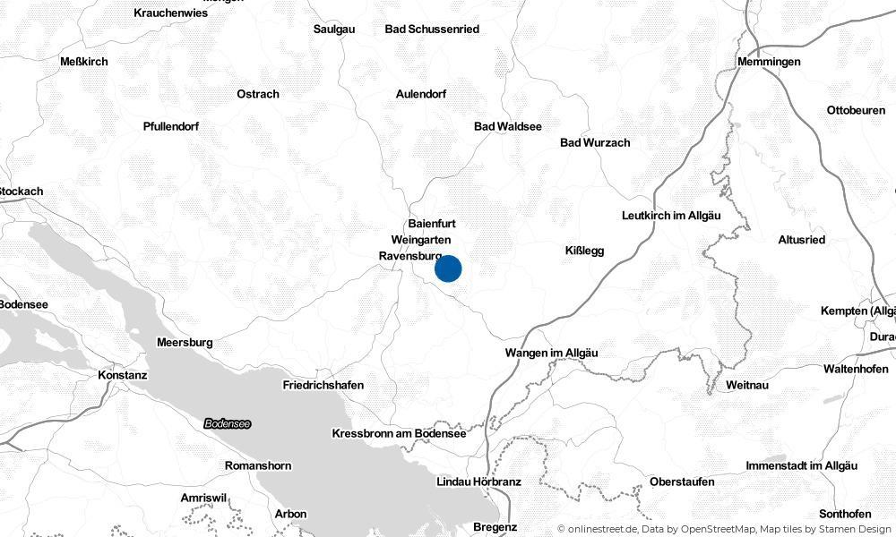 Karte: Wo liegt Schlier?
