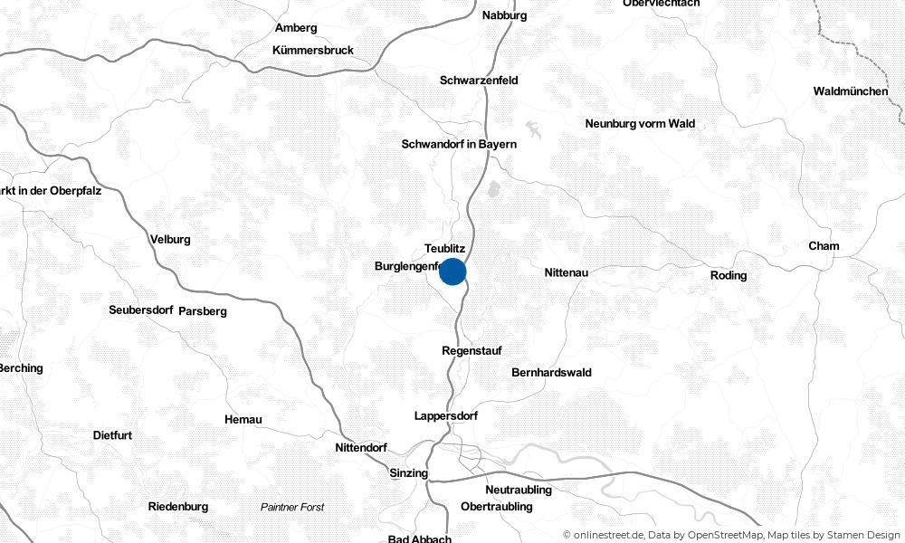 Karte: Wo liegt Maxhütte-Haidhof?
