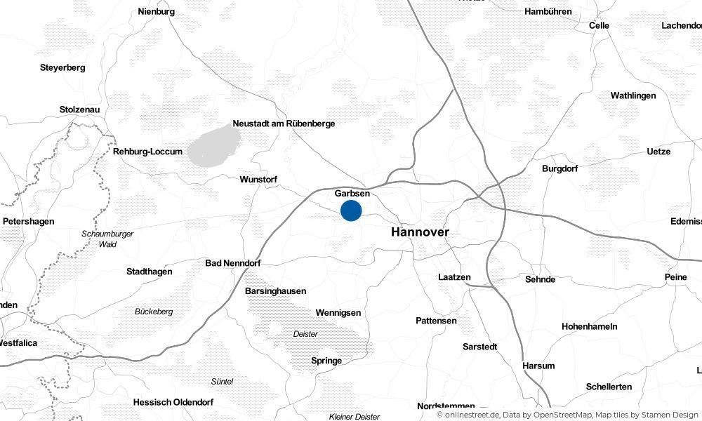 Karte: Wo liegt Seelze?
