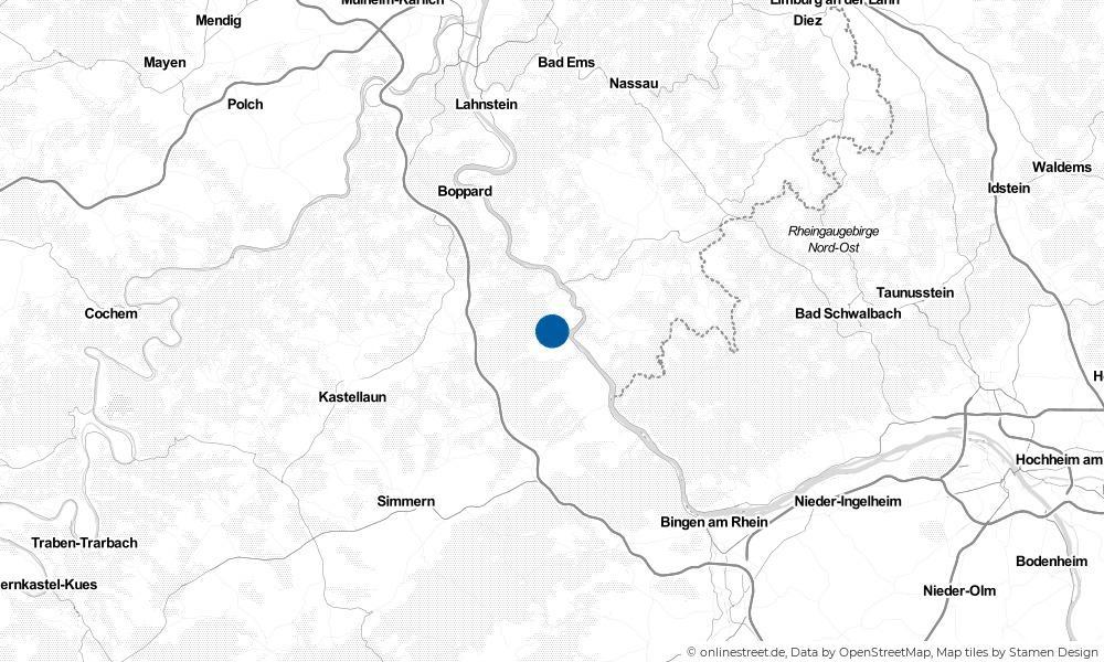 Karte: Wo liegt Niederburg?