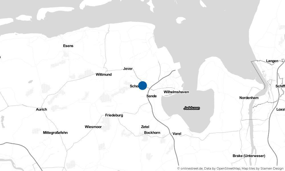 Karte: Wo liegt Ostiem?