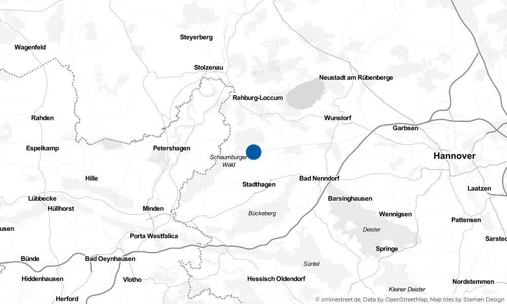 Karte: Wo liegt Pollhagen?