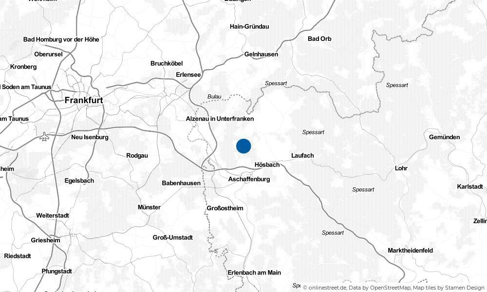Karte: Wo liegt Johannesberg?