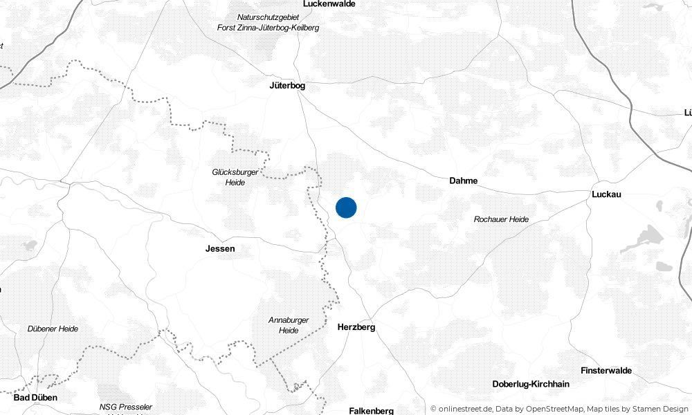 Karte: Wo liegt Heideeck?