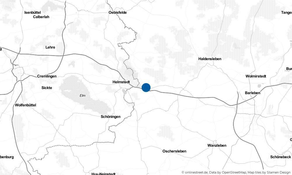 Karte: Wo liegt Ingersleben?