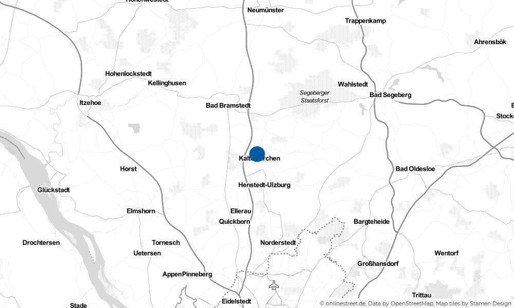 Karte: Wo liegt Kaltenkirchen?