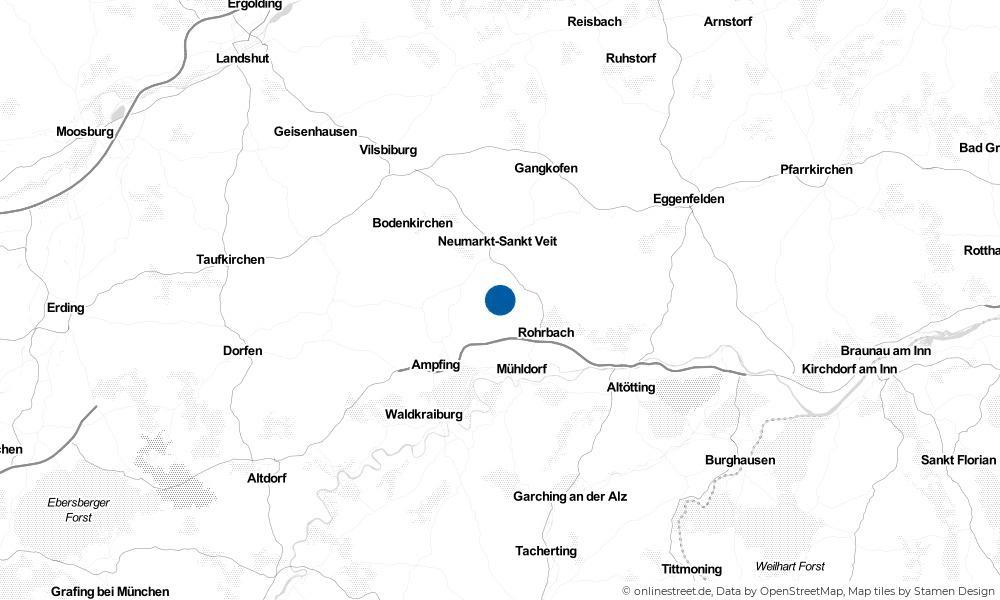 Karte: Wo liegt Niederbergkirchen?