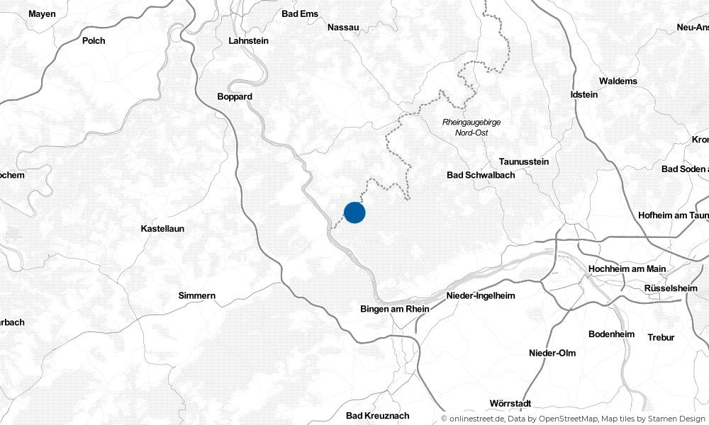 Karte: Wo liegt Sauerthal?