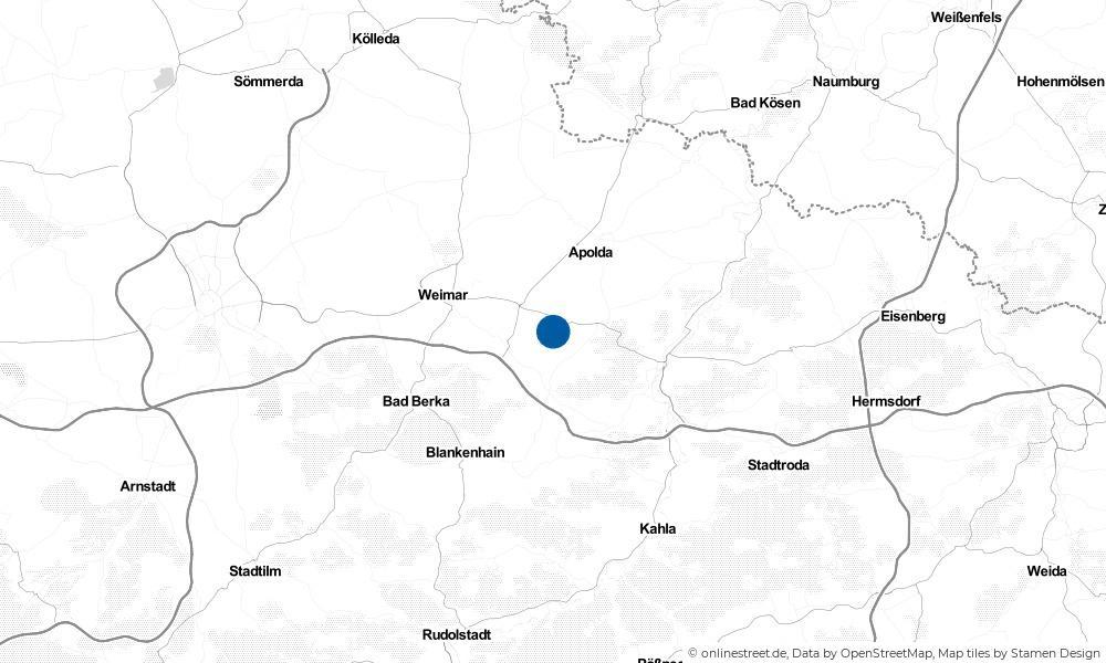 Karte: Wo liegt Hammerstedt?