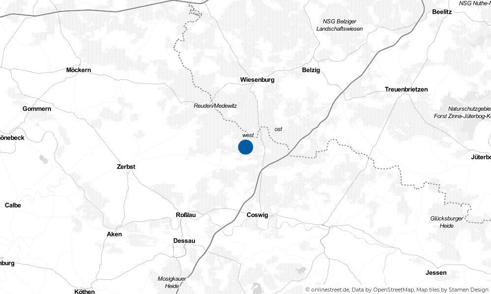 Karte: Wo liegt Serno?