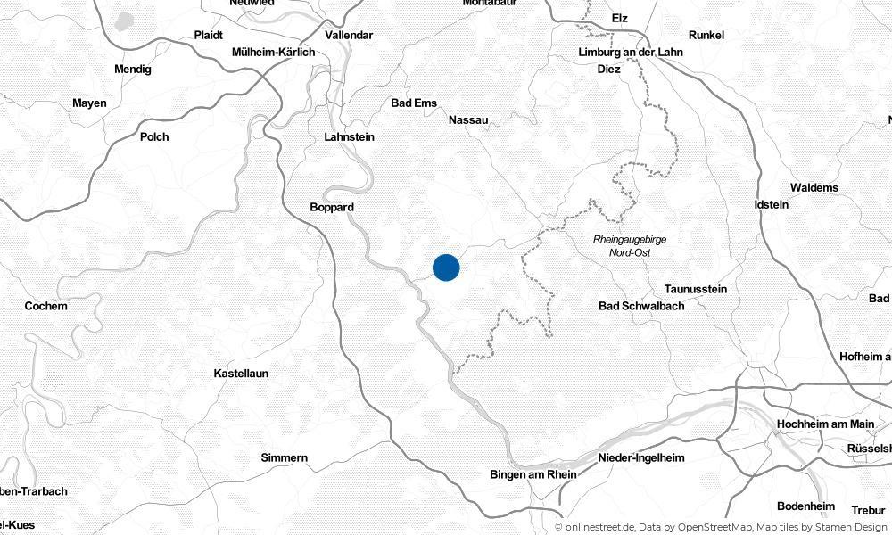 Karte: Wo liegt Auel?