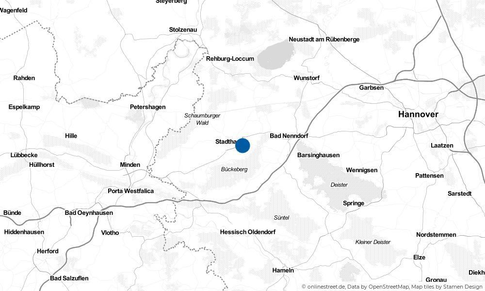 Karte: Wo liegt Habichhorst?