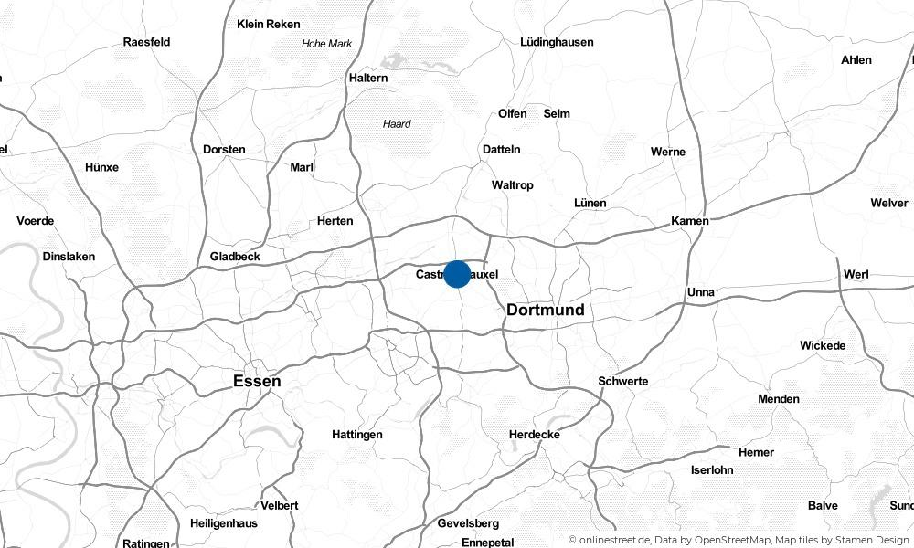 Karte: Wo liegt Castrop-Rauxel?
