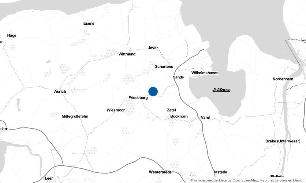 Karte: Wo liegt Etzel?