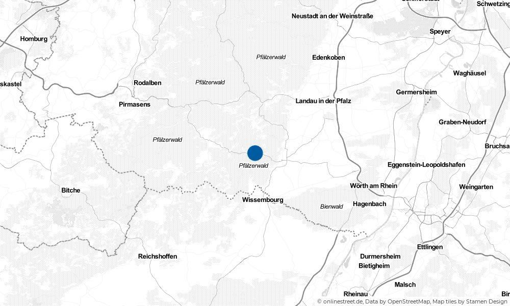 Karte: Wo liegt Birkenhördt?