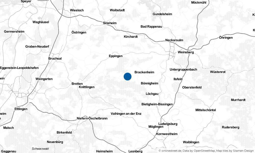 Karte: Wo liegt Pfaffenhofen?