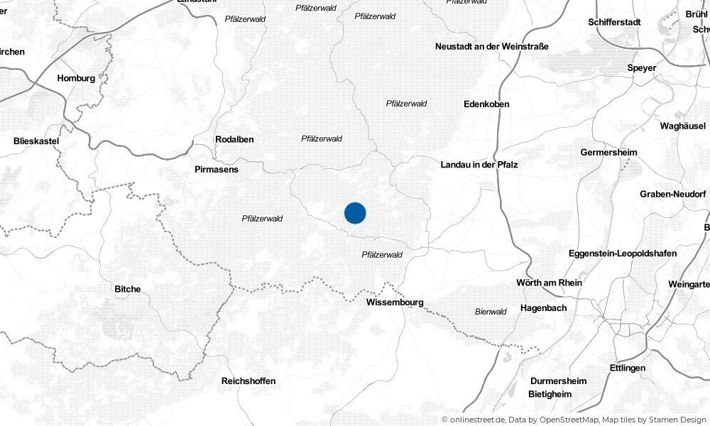 Karte: Wo liegt Oberschlettenbach?