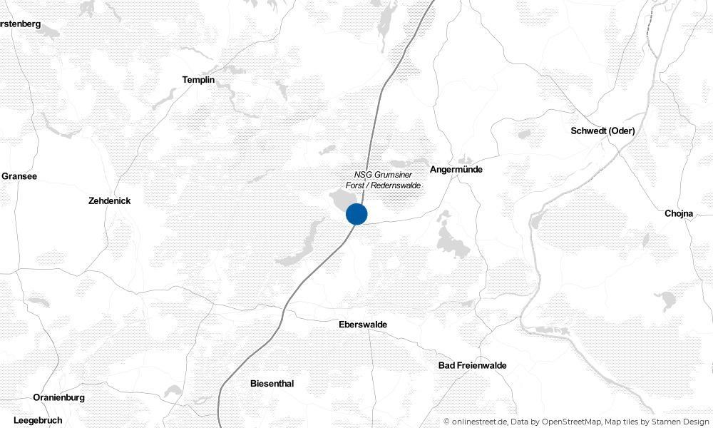 Karte: Wo liegt Althüttendorf?