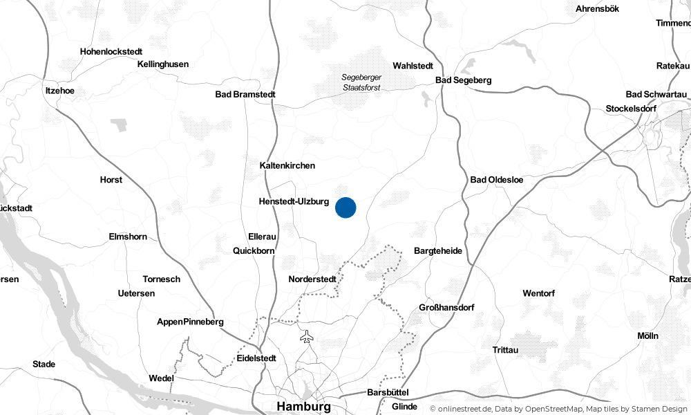 Karte: Wo liegt Wakendorf II?