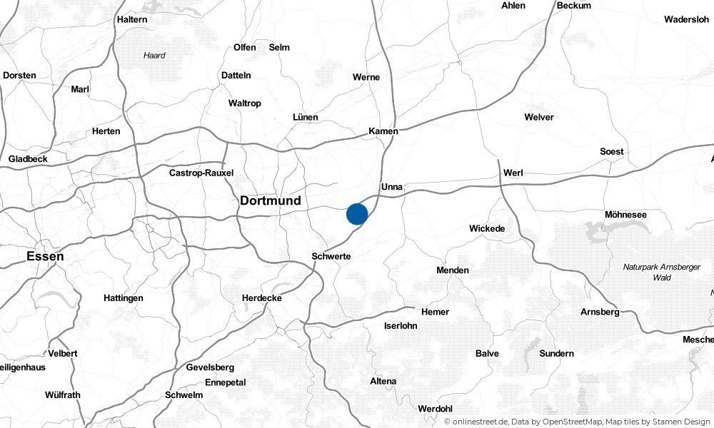 Karte: Wo liegt Holzwickede?