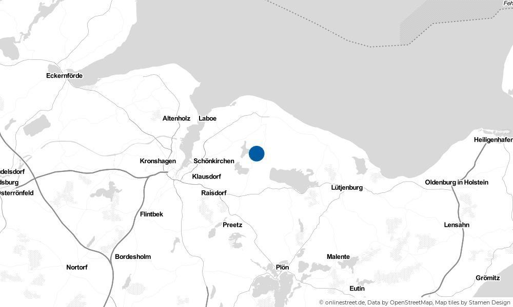 Karte: Wo liegt Stoltenberg?