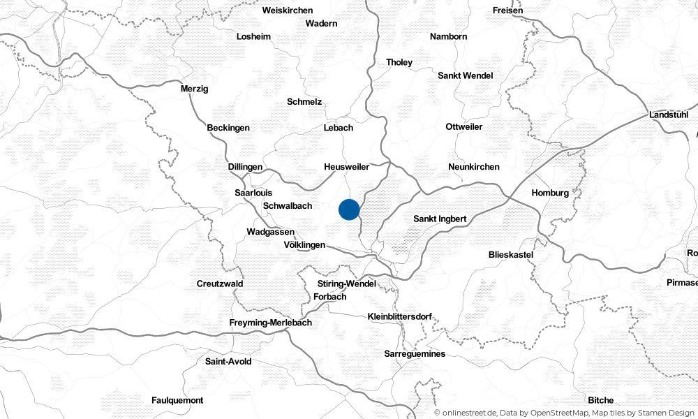 Karte: Wo liegt Riegelsberg?