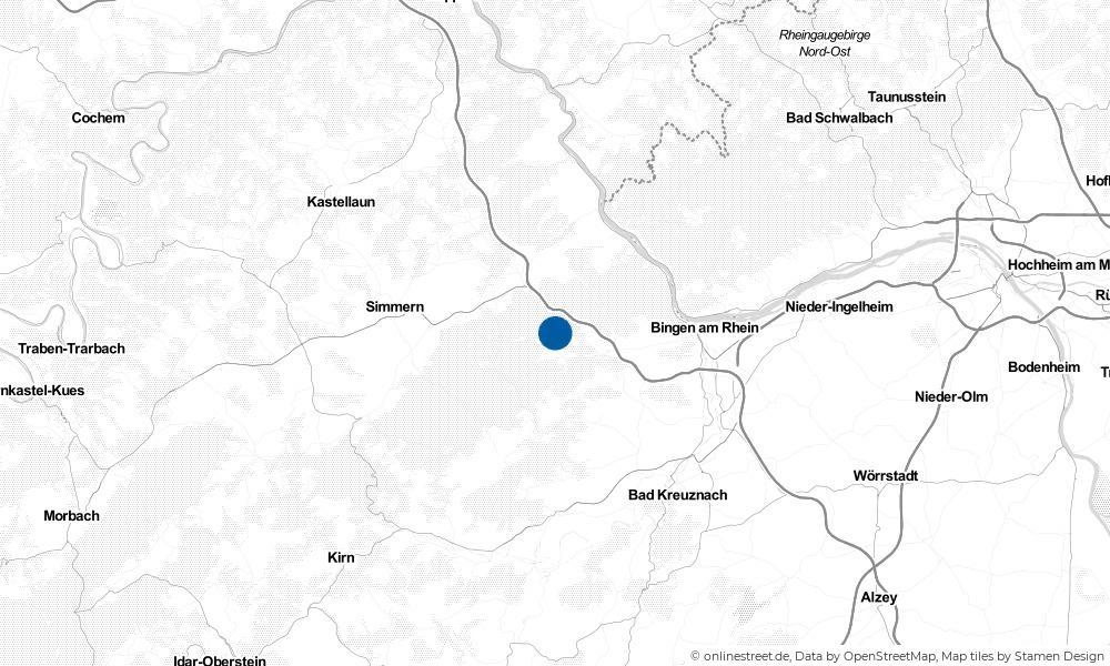 Karte: Wo liegt Seibersbach?