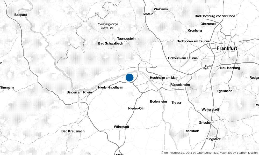 Karte: Wo liegt Budenheim?