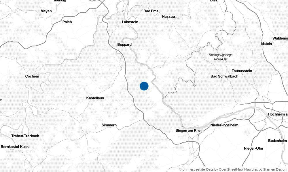 Karte: Wo liegt Damscheid?