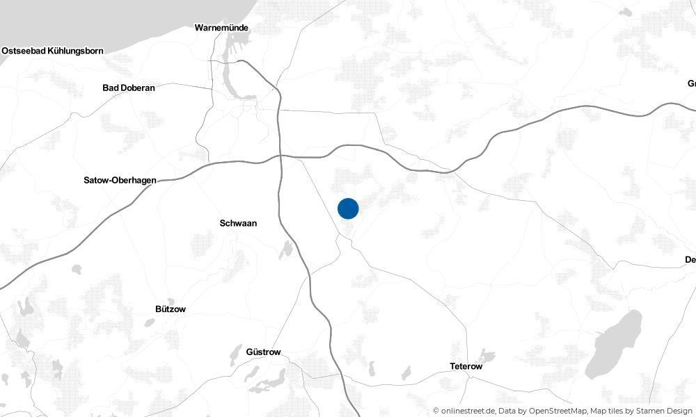 Karte: Wo liegt Cammin?