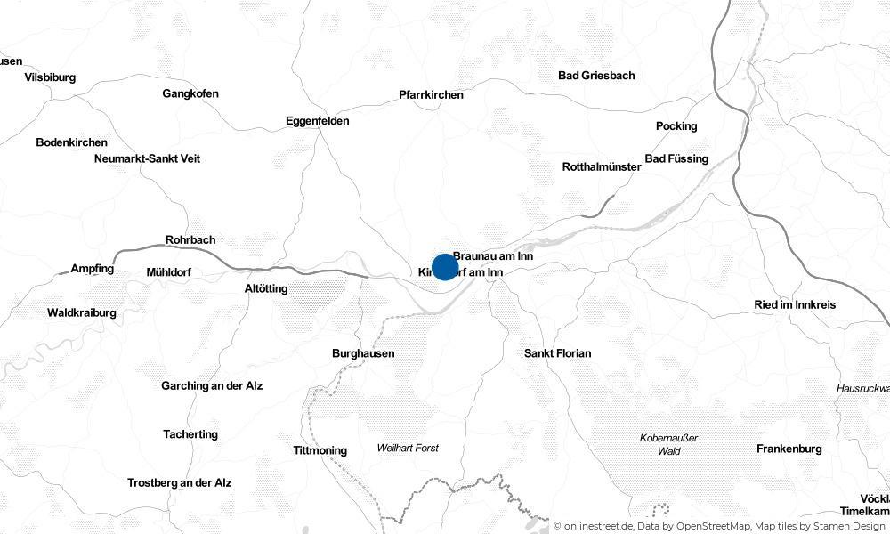 Karte: Wo liegt Julbach?