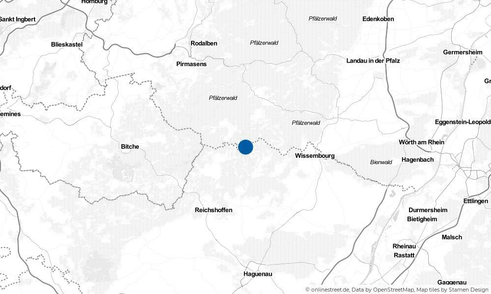 Karte: Wo liegt Hirschthal?