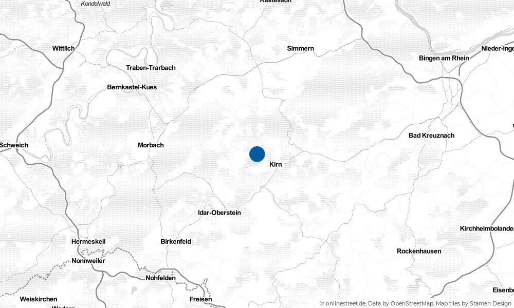 Karte: Wo liegt Griebelschied?