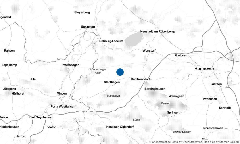 Karte: Wo liegt Vornhagen?