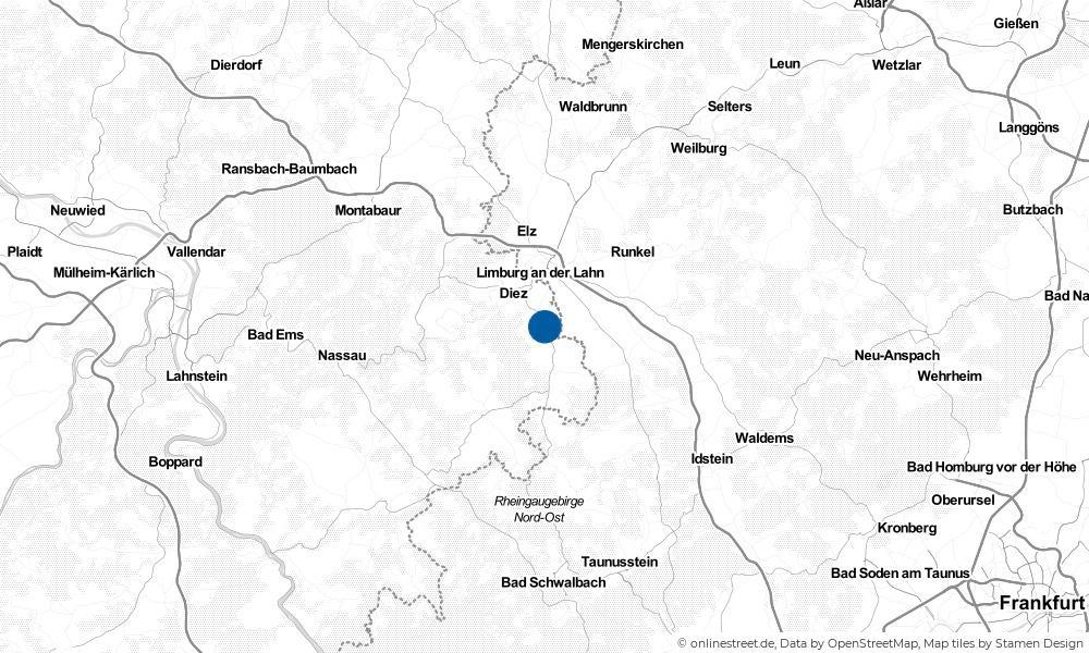 Karte: Wo liegt Niederneisen?