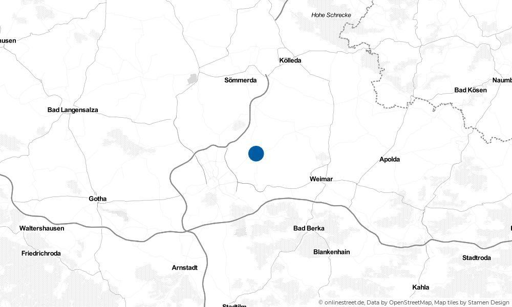 Karte: Wo liegt Großmölsen?