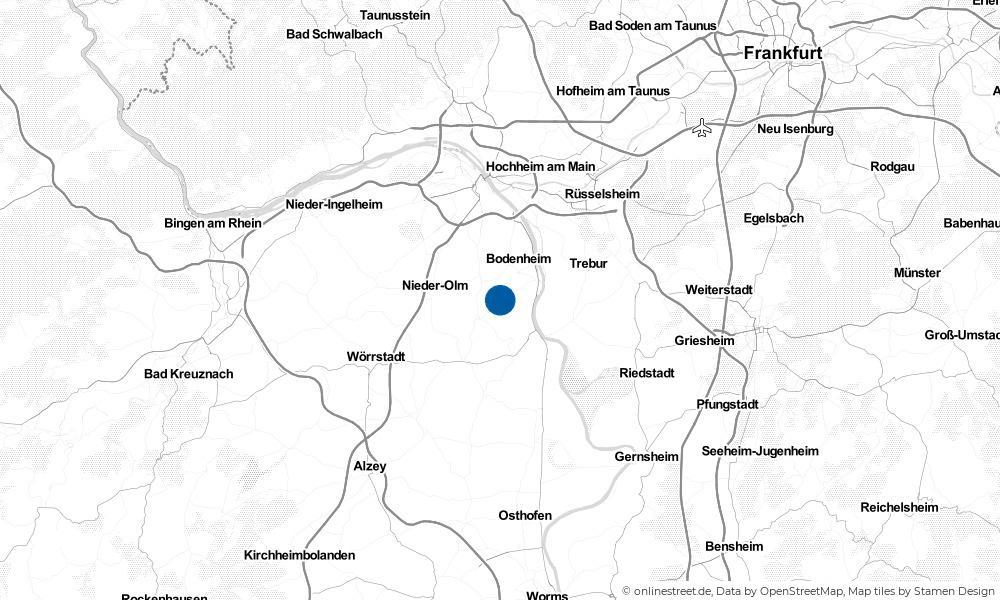 Karte: Wo liegt Lörzweiler?