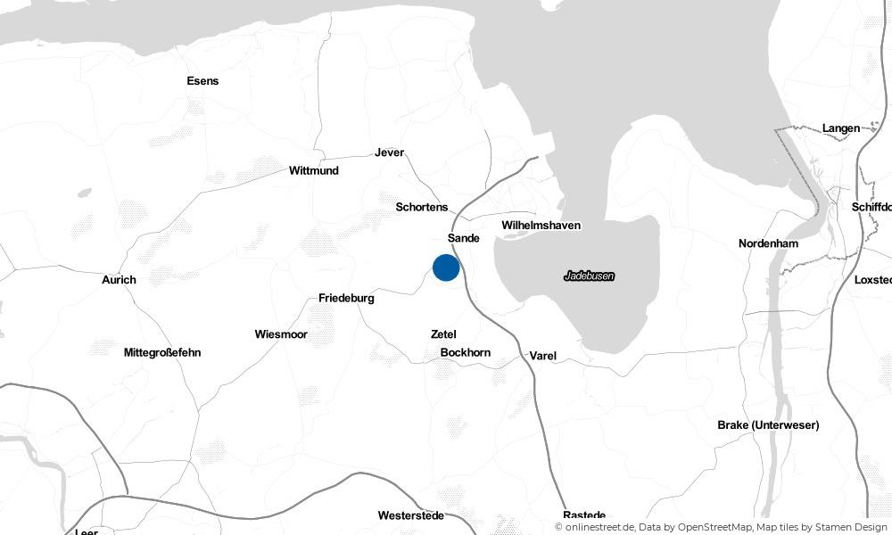 Karte: Wo liegt Neustadtgödens?
