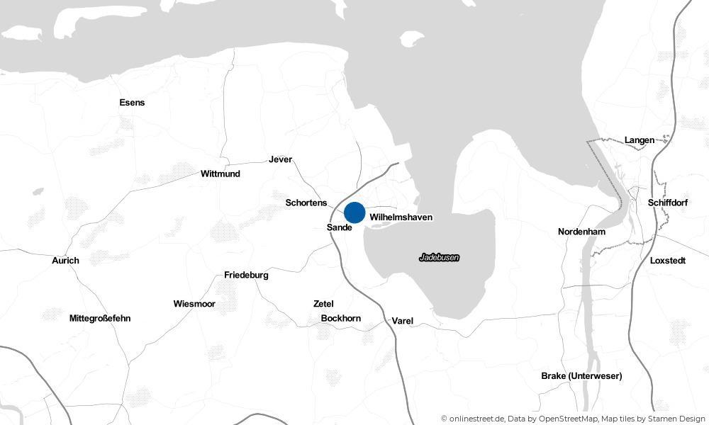 Karte: Wo liegt Middelsfähr?