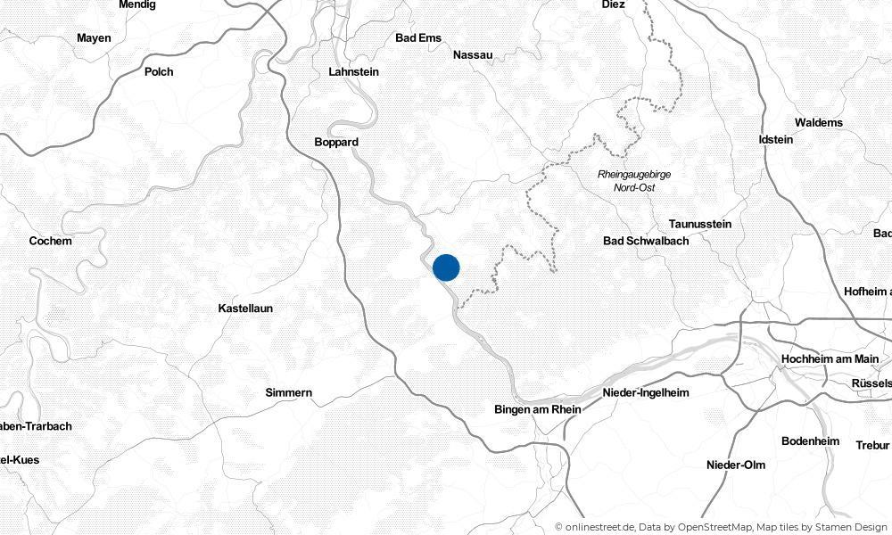 Karte: Wo liegt Dörscheid?