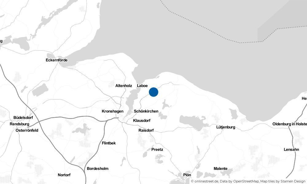 Karte: Wo liegt Lutterbek?