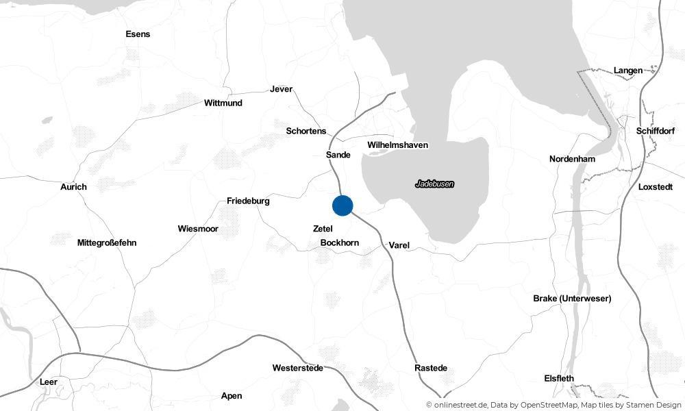 Karte: Wo liegt Blauhand?