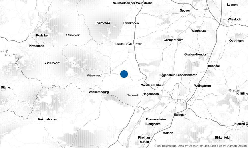 Karte: Wo liegt Hergersweiler?